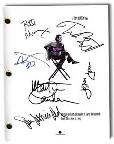 ed wood  signed script