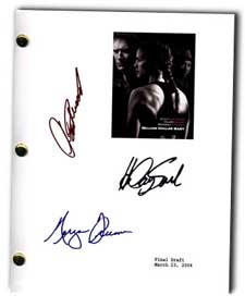 million dollar baby signed script