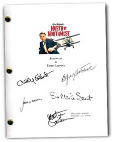north by northwest signed script
