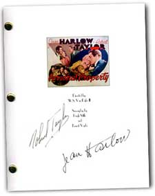 Personal Propery signed script