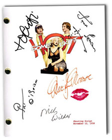 some like it hot  signed script