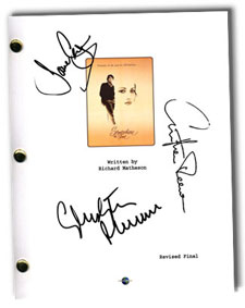 somewhere in time signed script