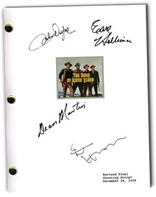 sons of katie elder signed script
