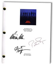 the wild bunch  signed script