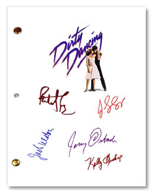 dirty dancing  signed movie script