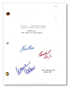 fatal attraction signed script