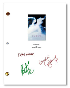 ghost 1990 signed script