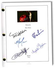 desperate housewives pilot signed script