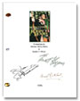 adventures of robin hood signed script