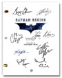batman begins signed script