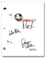 bourne supremacy signed script