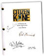 citizen kane signed script
