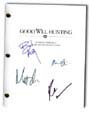 good will hunting signed movie script