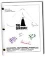 the graduate signed script