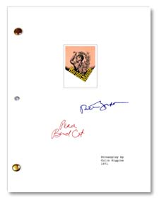 harold and maude signed script