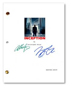 inception signed script