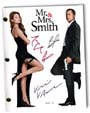 mr and mrs smith signed script