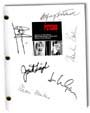 psycho the movie signed script