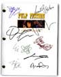 pulp fiction signed script