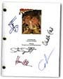raiders of the lost ark signed script