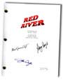 red river signed script