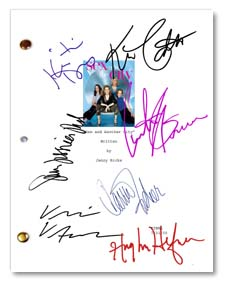 sex in the city tv  signed script