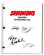 the shining signed script