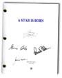 a star is born signed script