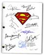 superman signed script
