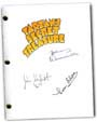 tarzan's secret treasure signed script