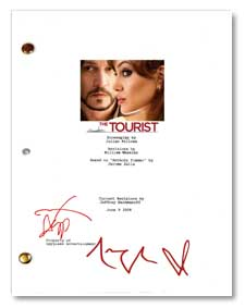 the tourist signed script