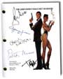 a view to a kill signed script