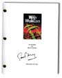 war of the worlds signed script