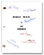 the wolfman signed script